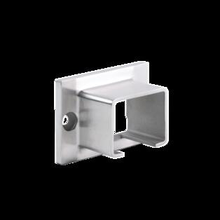 Wall connector for handrail